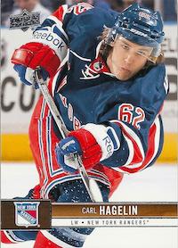 2012-13 Upper Deck #118 Carl Hagelin