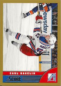 2013-14 Score Gold #333 Carl Hagelin