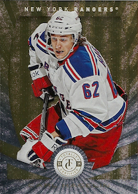 2013-14 Totally Certified Platinum Gold #62 Carl Hagelin /25