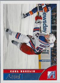 2013-14 Score Red Back #333 Carl Hagelin