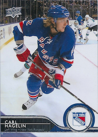 2014-15 Upper Deck #380 Carl Hagelin