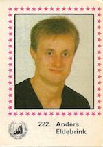 1984-85 Swedish Semic Elitserien #222 Anders Eldebrink