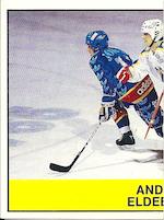 1985-86 Swedish Panini Stickers #121 Anders Eldebrink L