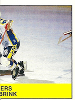1985-86 Swedish Panini Stickers #122 Anders Eldebrink R