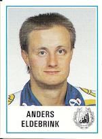 1987-88 Swedish Panini Stickers #235 Anders Eldebrink