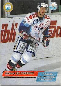 1995-96 Swiss HNL #515 Anders Eldebrink