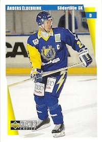 1997-98 Swedish Collector's Choice #167 Anders Eldebrink