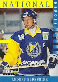 1997-98 Swedish Collector's Choice #208 Anders Eldebrink