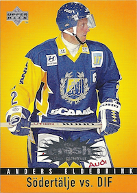 1997-98 Swedish Collector's Choice Crash the Game #C27 Anders Eldebrink