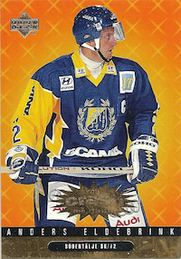 1997-98 Swedish Collector's Choice Crash the Game Redemption Prizes #R27 Anders Eldebrink