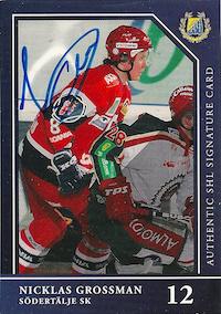 2005-06 SHL Auto ser 1 Niklas Grossman