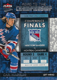 2014-15 Ultra Road to the Championship #RTCNYRCH9 Carl Hagelin/Round 3 (5/25/14)