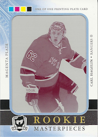 2011-12 The Cup Printing Plates SP Authentic Magenta #209 Carl Hagelin