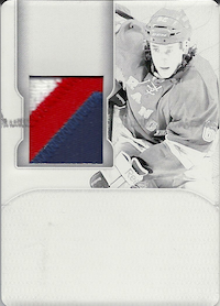 2011-12 Dominion Printing Plates Black #193 Carl Hagelin JSY /1