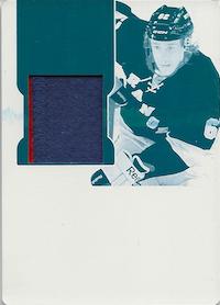 2011-12 Dominion Printing Plates Cyan #193 Carl Hagelin JSY /1