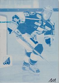 2012-13Hockeyallsvenskan Press Plate Edition Cyan227Carl Hagelin, Södertälje SK 1/1