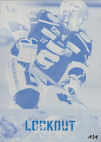 2013-14	LR14	Carl Hagelin	Lockout Review Press Plate Edition