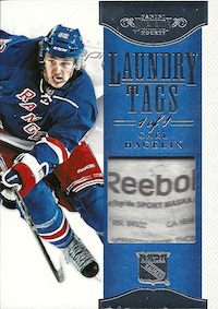 2011-12 Dominion Laundry Tags #57 Carl Hagelin /1