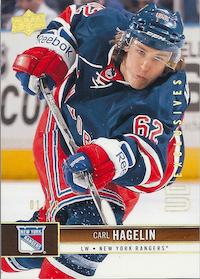 2012-13 Upper Deck Exclusives Spectrum #118 Carl Hagelin /10
