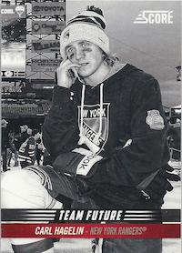 2012-13 Score Team Future #TF7 Carl Hagelin