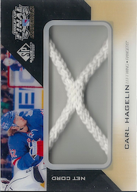 2014-15 SP Game Used Stanley Cup Finals Materials Net Cord #SCNCCH Carl Hagelin /25