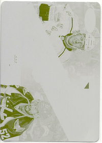 2012-13 Certified #13 Carl Hagelin Yellow Plate