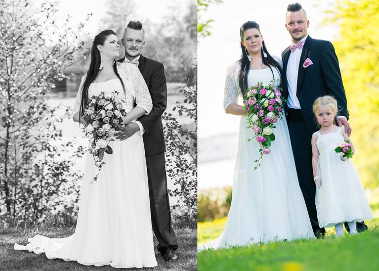 Bröllopsfotografering Huskvarna