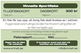 Fiskekort GRÖNT -
