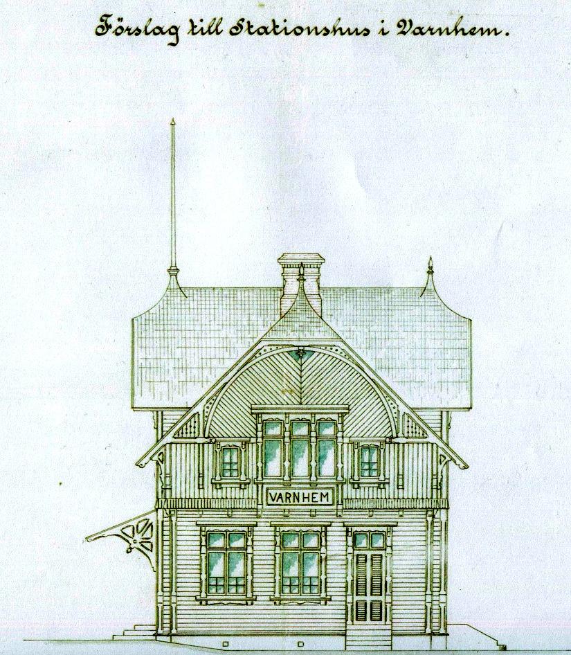 Avfotad ritning från Skarke-Varnhems Hembygdsförenings arkiv, 2014. KF