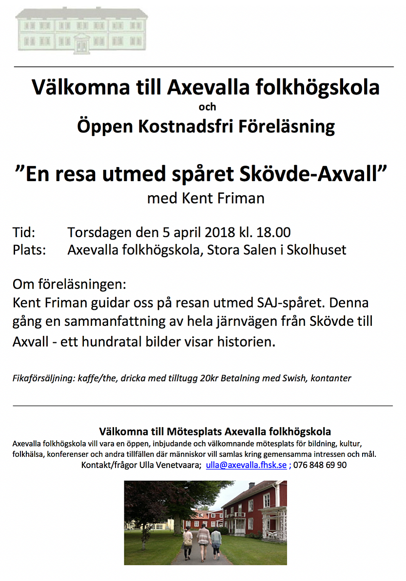 mötesplatser för äldre i axvall