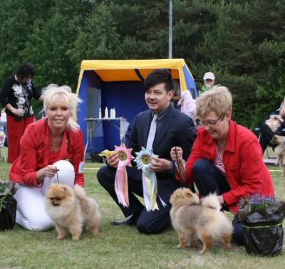 BIS puppy Speciality Show 2011
