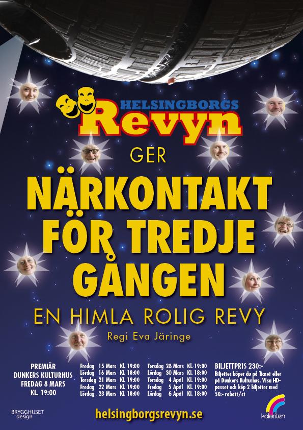 Närkontakt för tredje gången - En himla rolig revy 2013