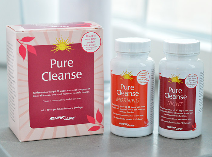 pure cleanse tabletter