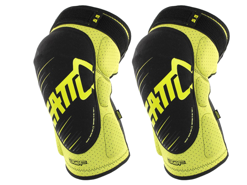 Sportstoys.se-Leatt Knee Guard 3DF 5.0 - Lime