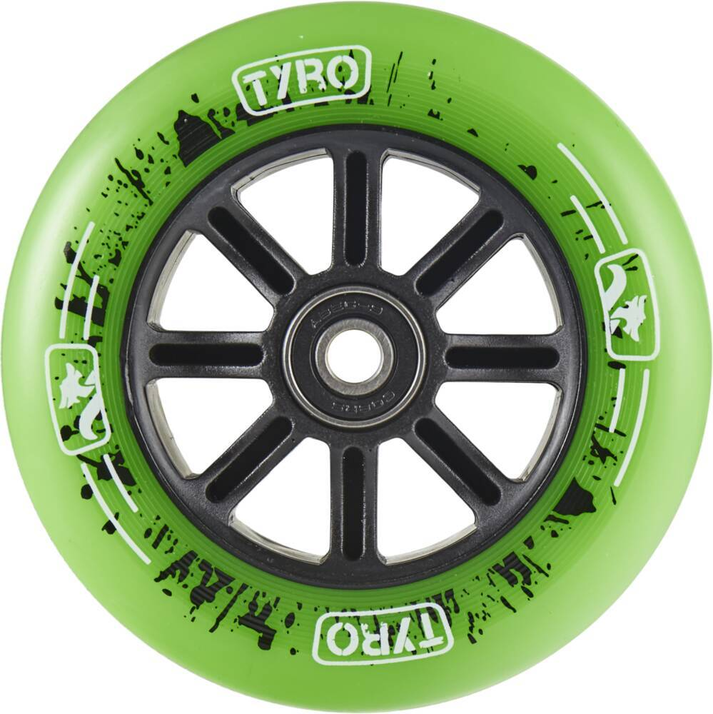 sportstoys.se-longway-tyro-nylon-core-pro-scooter-wheel-5j-grön