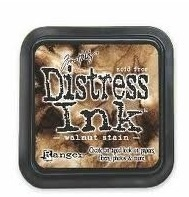 Distress walnut stain
