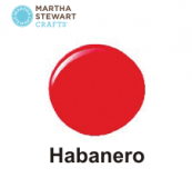 Hobbyfärg sidenmatt Habanero