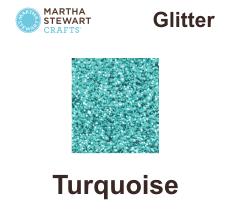 Hobbyfärg glitter Turquoise -