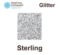Hobbyfärg glitter Sterling -
