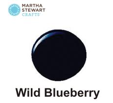 Hobbyfärg matt Wild Blueberry -