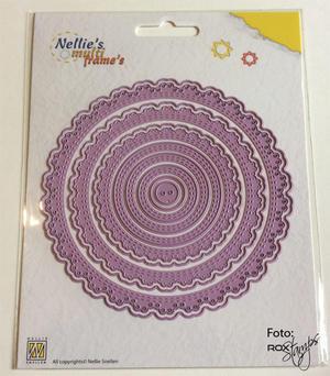 Nellie Snellen - Multi frame die - Round Doily 2 -