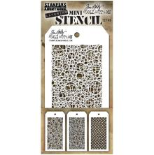 Tim Holtz Mini Layered Stencil Set 3/Pkg