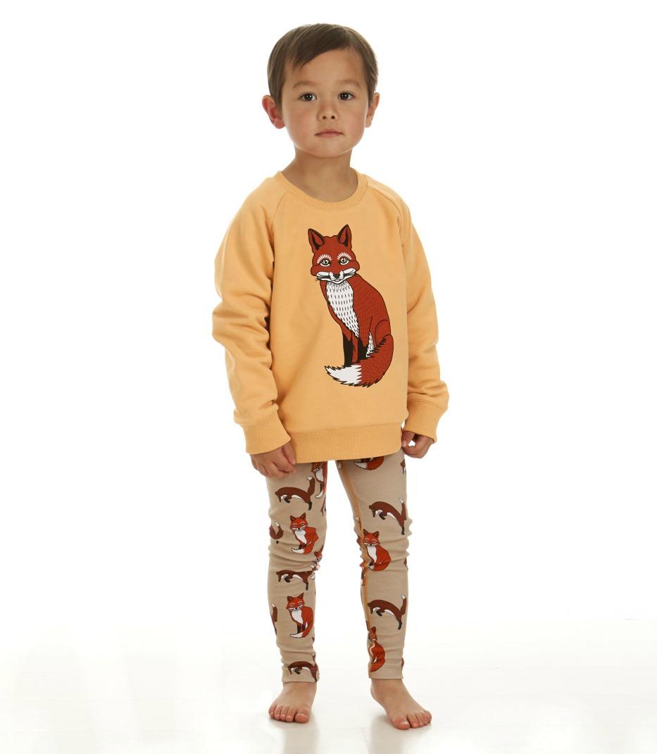 Reversible Sweatshirt Fox Leggings Foxes