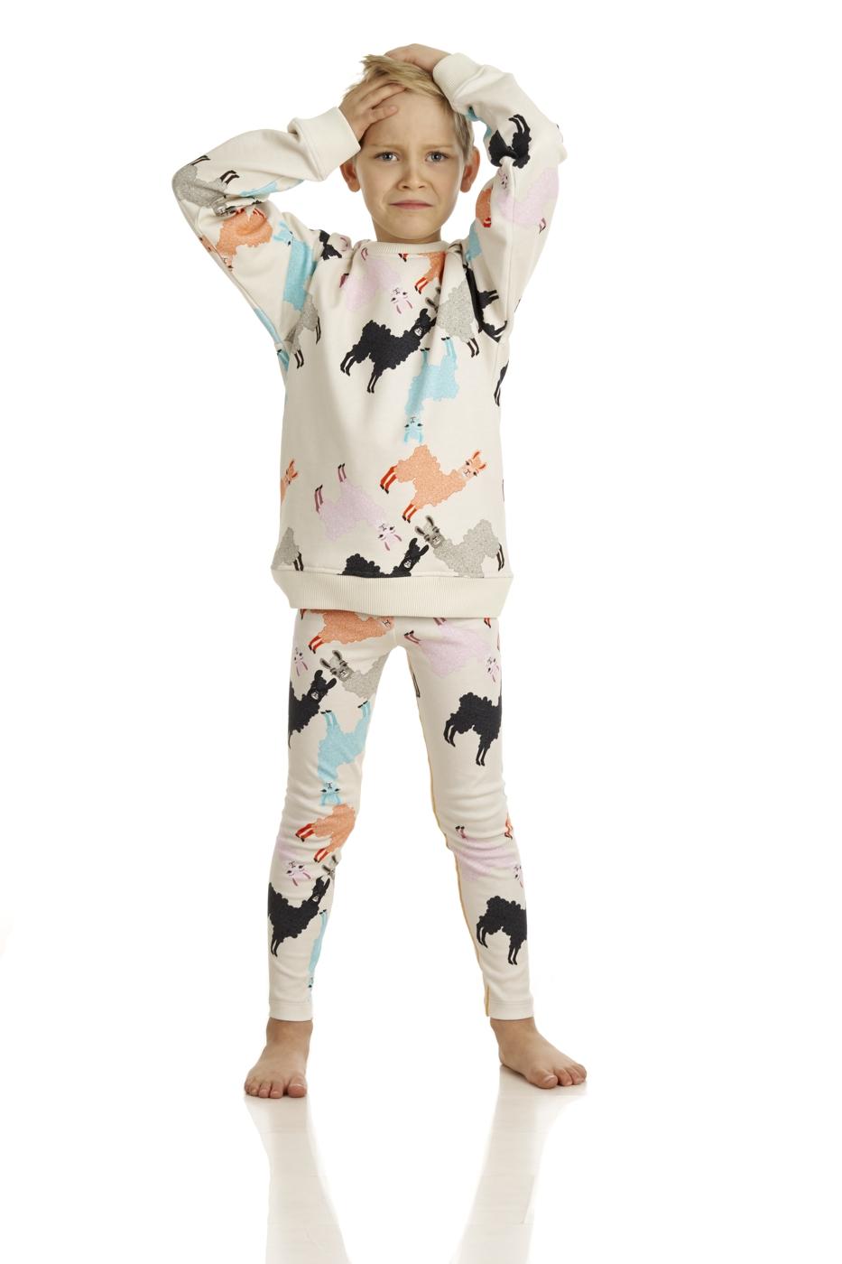 17SSSA Sweatshirt Alpaca 17SSLA Leggings Alpaca