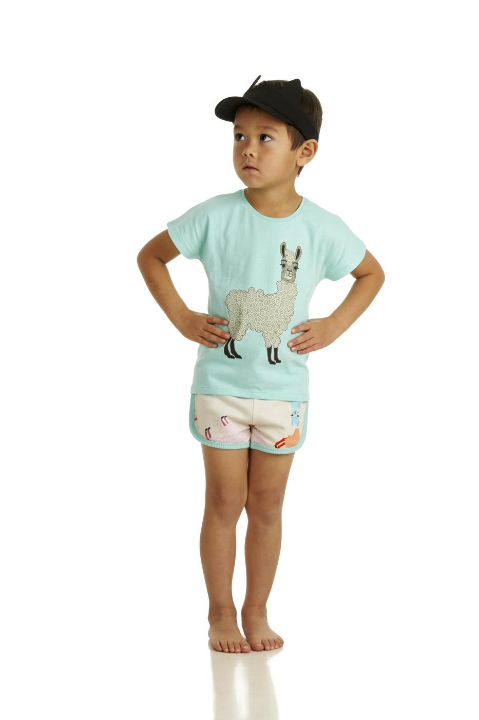17SSTA T-shirt Alpaca 17SSSHA Shorts Alpaca B