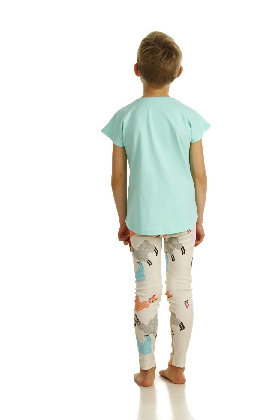 17SSTA T-shirt Alpaca SS17LA Leggings Alpaca Back