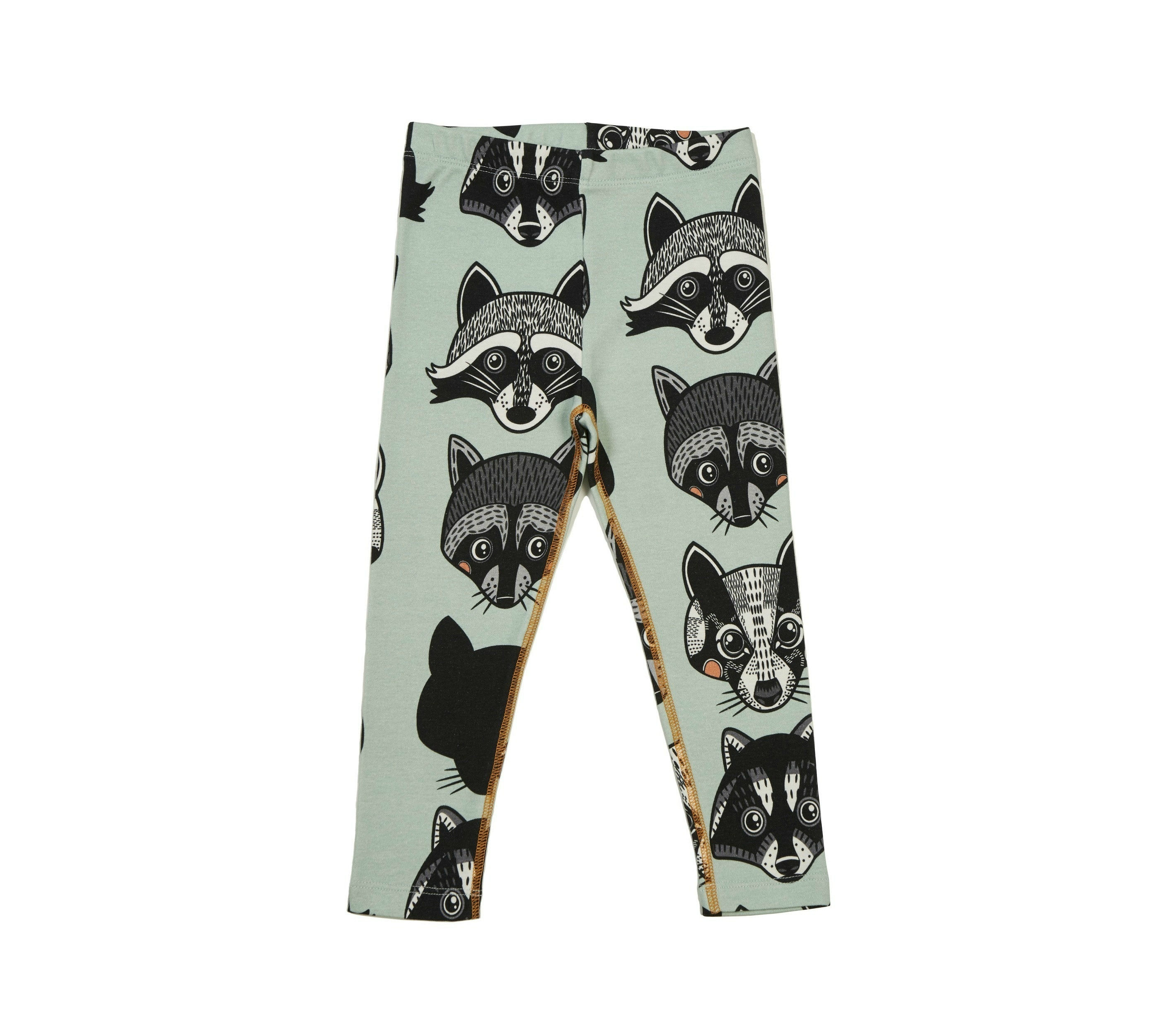 18SSLR Leggings Raccoons & Badger