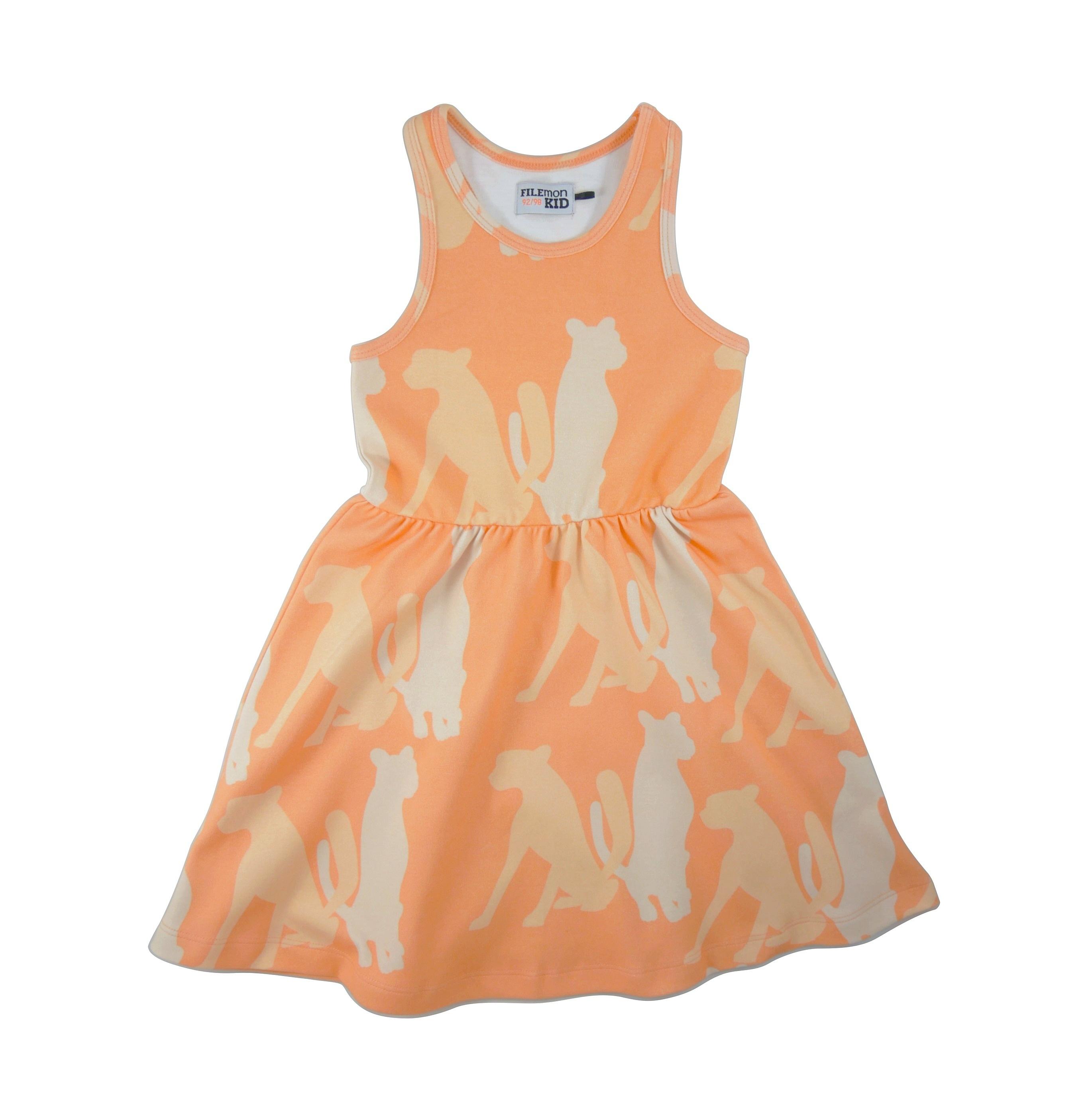 19SSDC Dress Cheetha Silouette