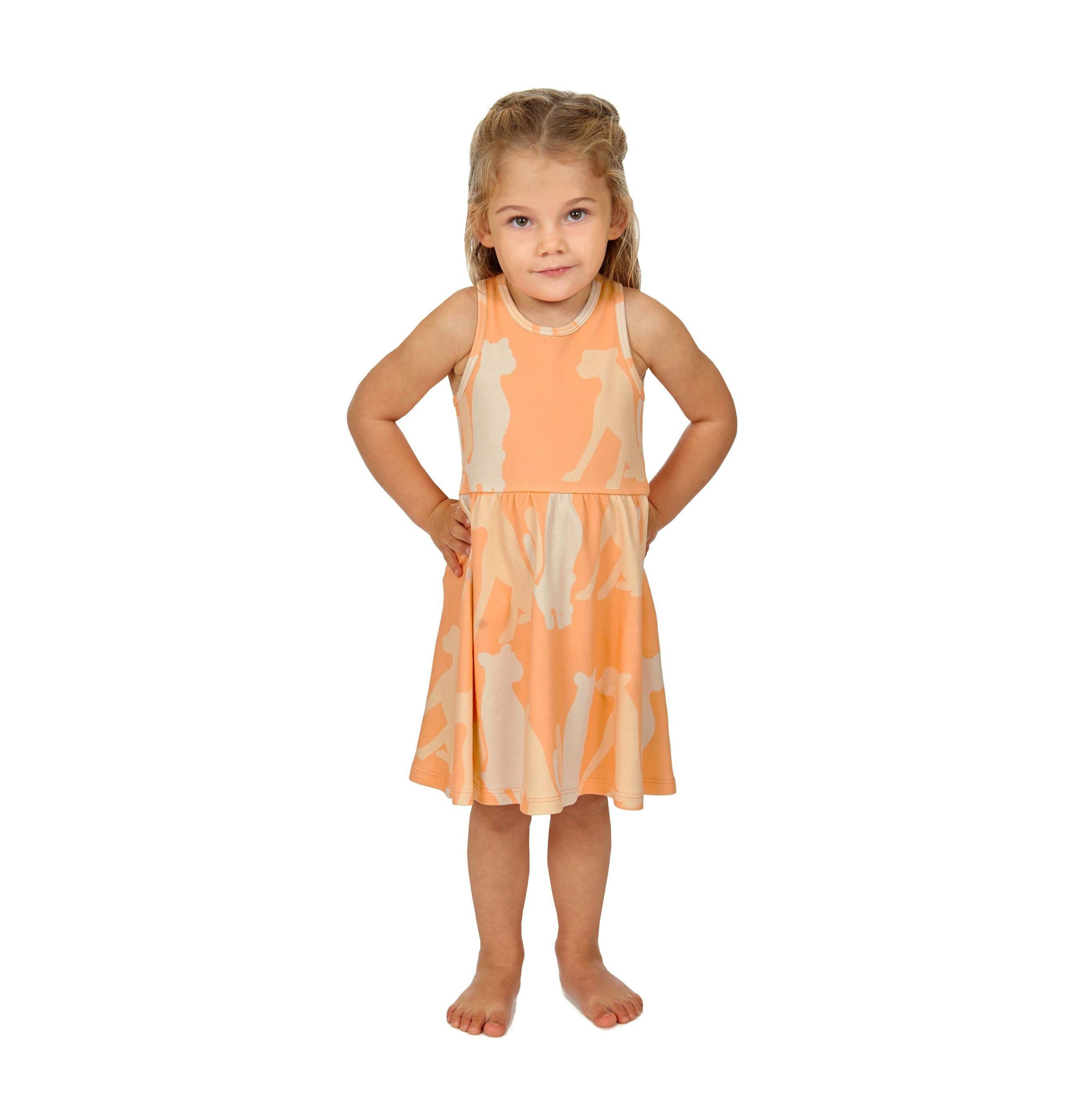 Dress Cheetah Silouette