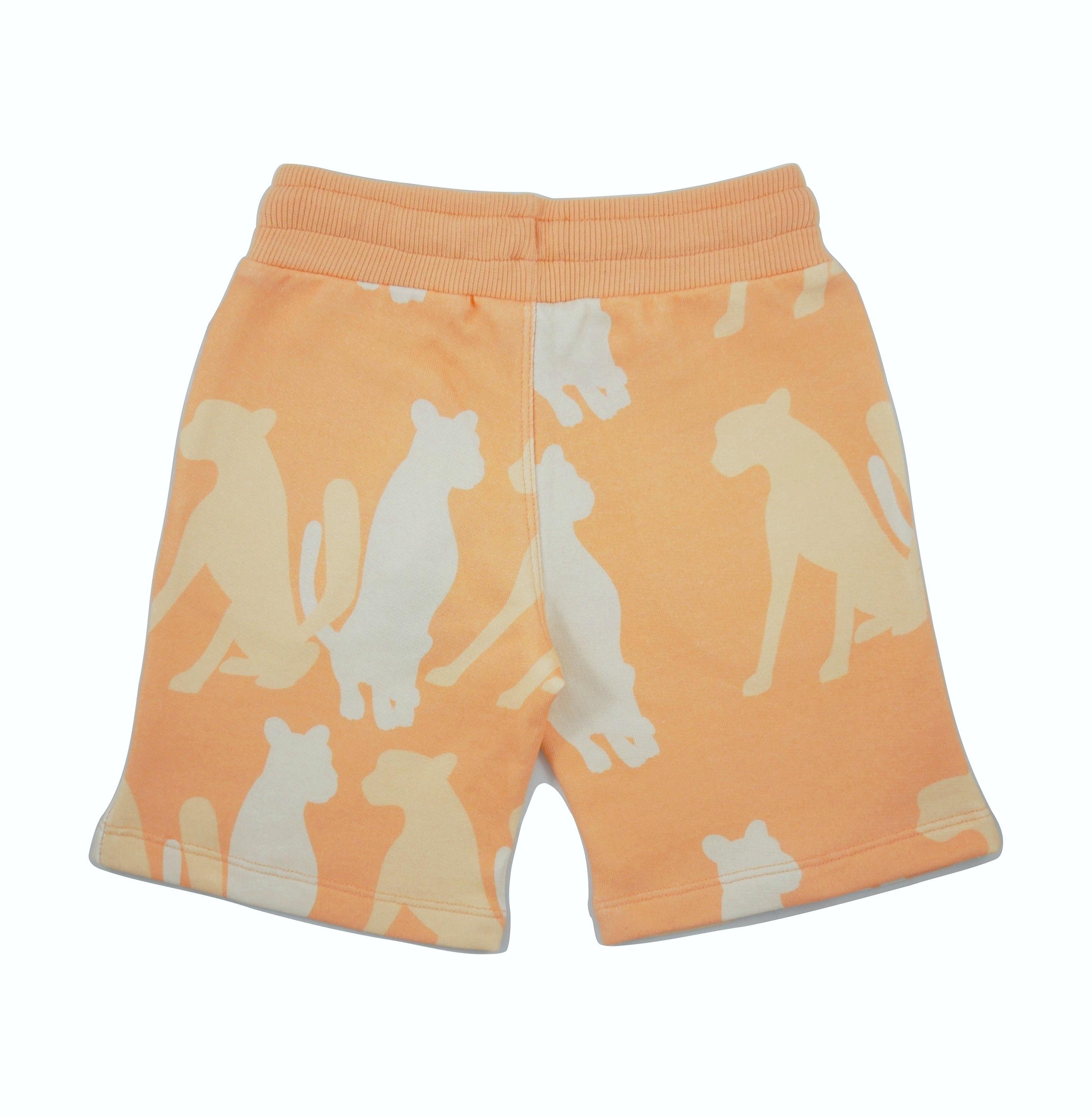 19SSSHC Shorts Cheetah Silouette back
